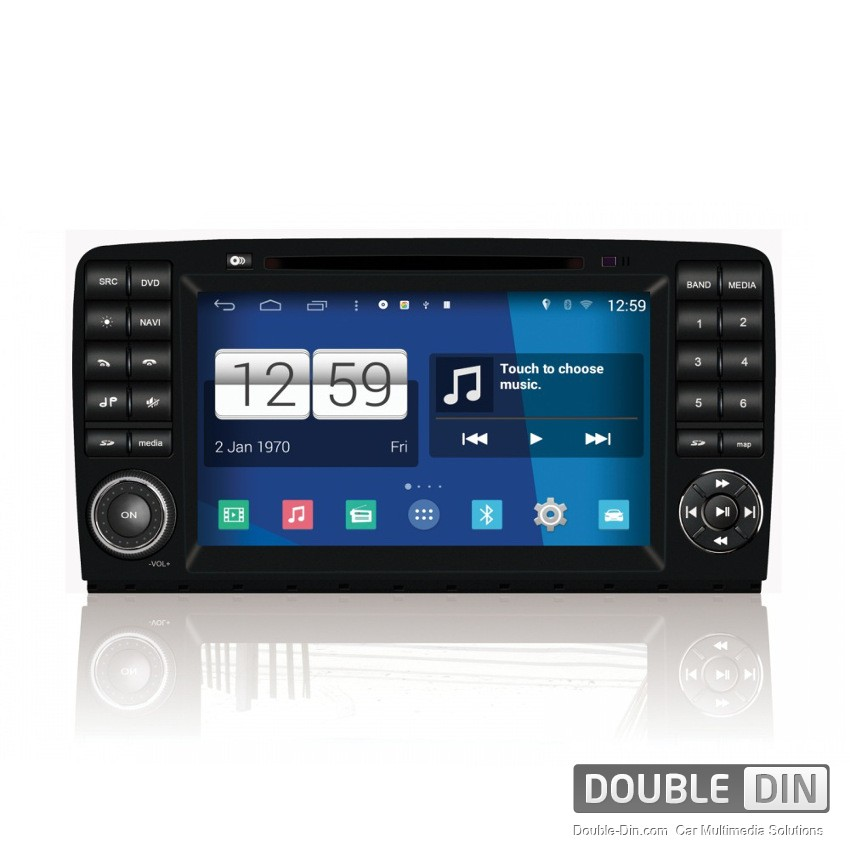 Navigation / Multimedia Head unit with Android for Mercedes R-class W251 - DD-M215