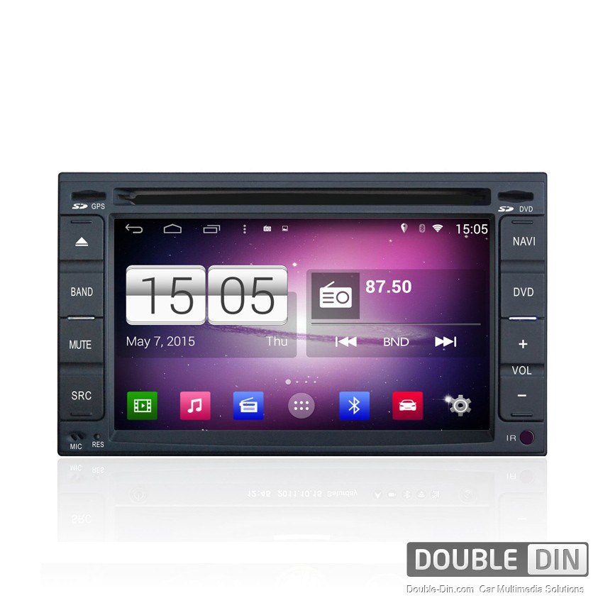 Navigation / Multimedia Head unit with Android for Nissan Qashqai, X-Trail - DD-M001