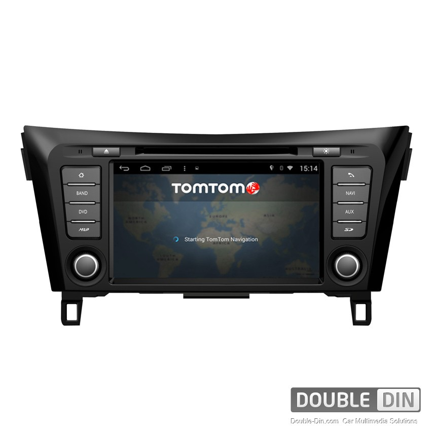 navigation multimedia head unit with android for nissan qashqai dd m353. Black Bedroom Furniture Sets. Home Design Ideas