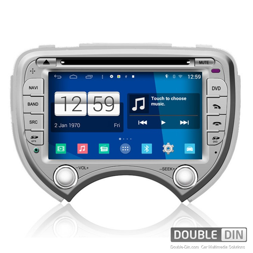 Navigation / Multimedia Head unit with Android for Nissan March - DD-M070
