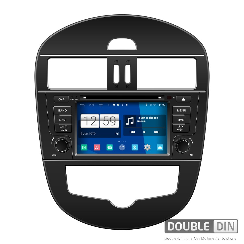 Navigation / Multimedia Head unit with Android for Nissan Tiida  - DD-M105