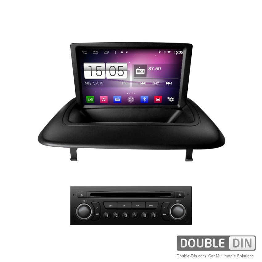 navigation multimedia head unit with android for peugeot 3008 dd m323. Black Bedroom Furniture Sets. Home Design Ideas