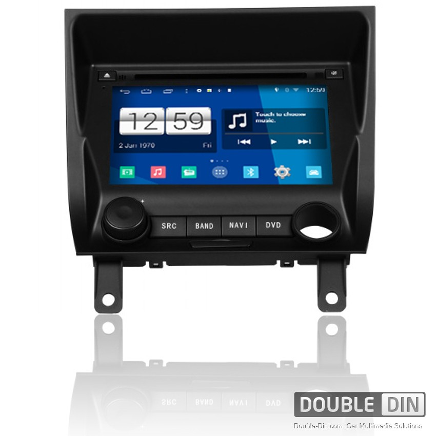 Navigation / Multimedia Head unit with Android for Peugeot 405 - DD-M151
