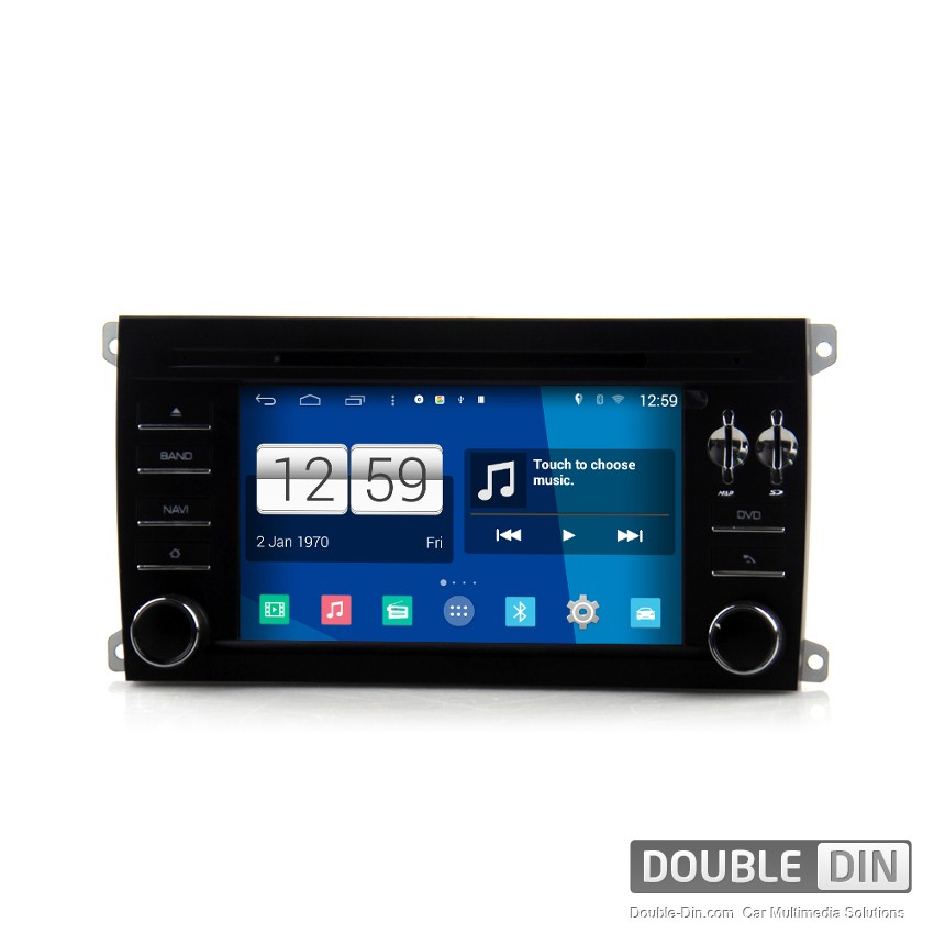 Navigation / Multimedia Head unit with Android for Porsche Cayenne - DD-M443
