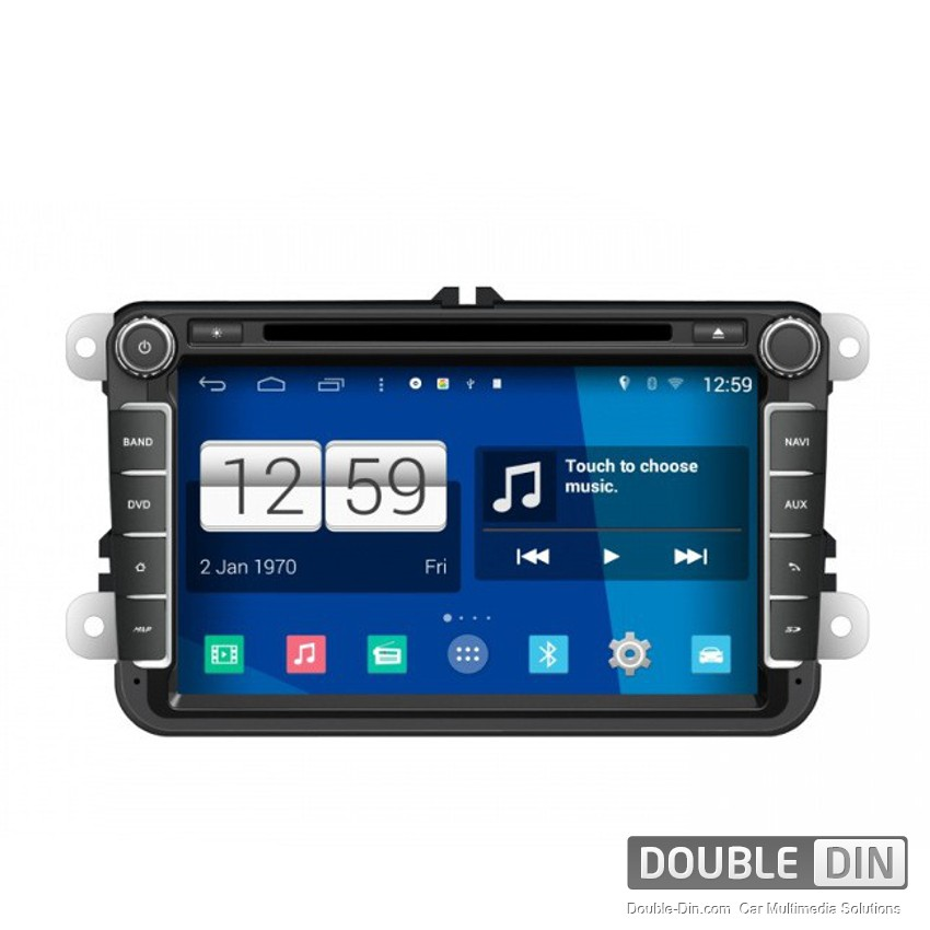 Navigation / Multimedia Head unit with Android for VW Golf, Passat, Tiguan, Touran, EOS, Caddy, Jetta - DD-M370