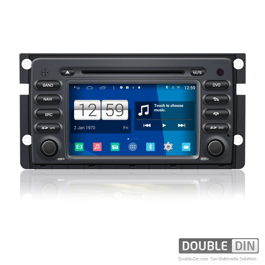 Navigation / Multimedia Head unit with Android for Smart Fortwo - DD-M087