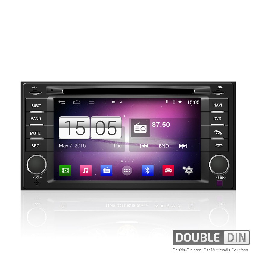 Navigation / Multimedia Head unit with Android for Subaru Forester, Impreza, XV  - DD-M062