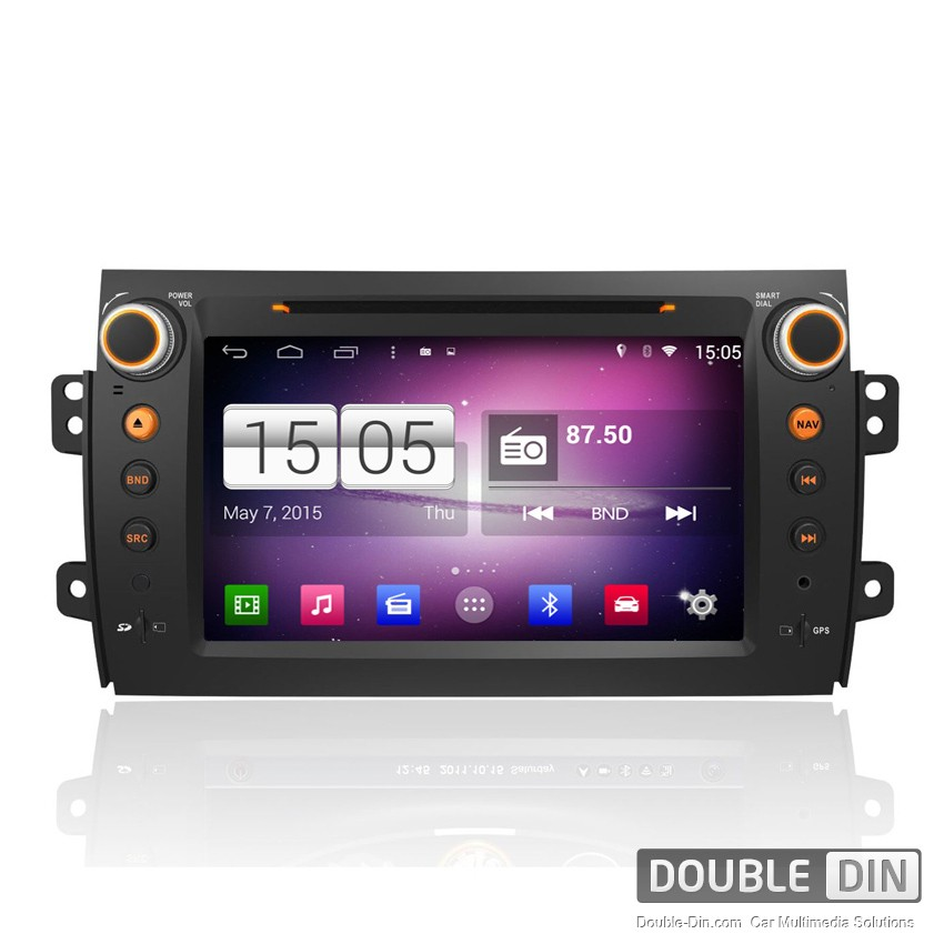 Navigation / Multimedia Head unit with Android for Fiat Sedici - DD-M124