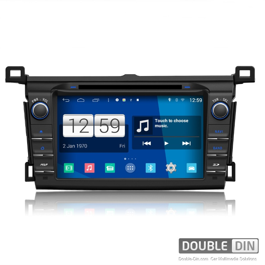 Navigation / Multimedia Head unit with Android for Toyota RAV4 - DD-M247