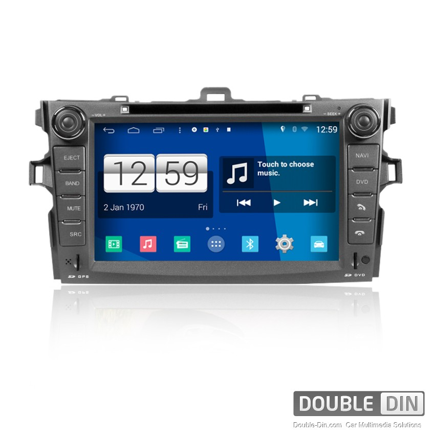 Navigation / Multimedia Head unit with Android for Toyota Corolla - DD-M063