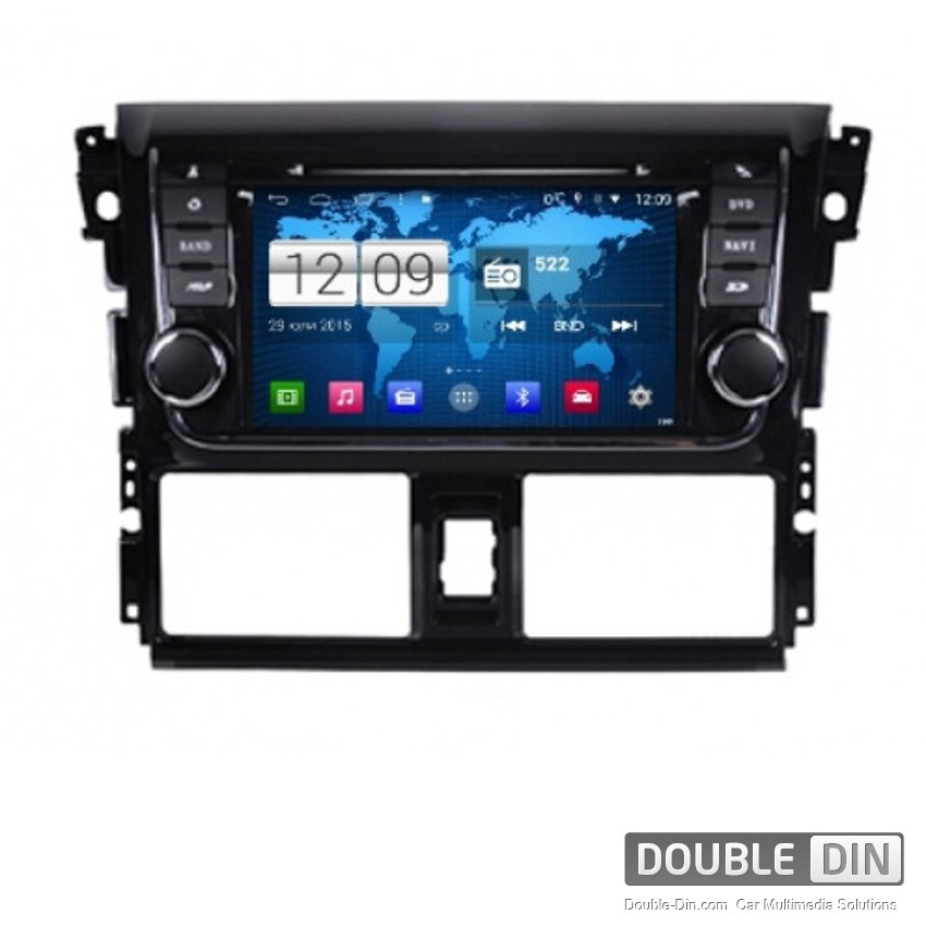 Navigation / Multimedia Head unit with Android for Toyota Yaris - DD-M317