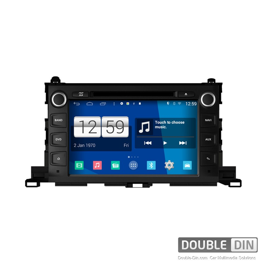Navigation / Multimedia Head unit with Android for Toyota Highlander - DD-M445