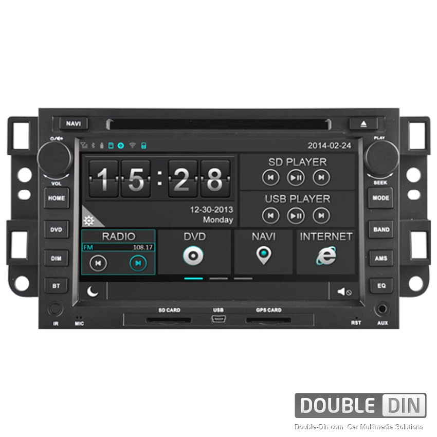 Navigation / Multimedia Head unit for Chevrolet Captiva, Epica and others - DD-8421