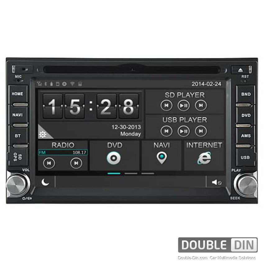 Navigation / Multimedia Head unit for Nissan Qashqai, Paladin and others - DD-8900