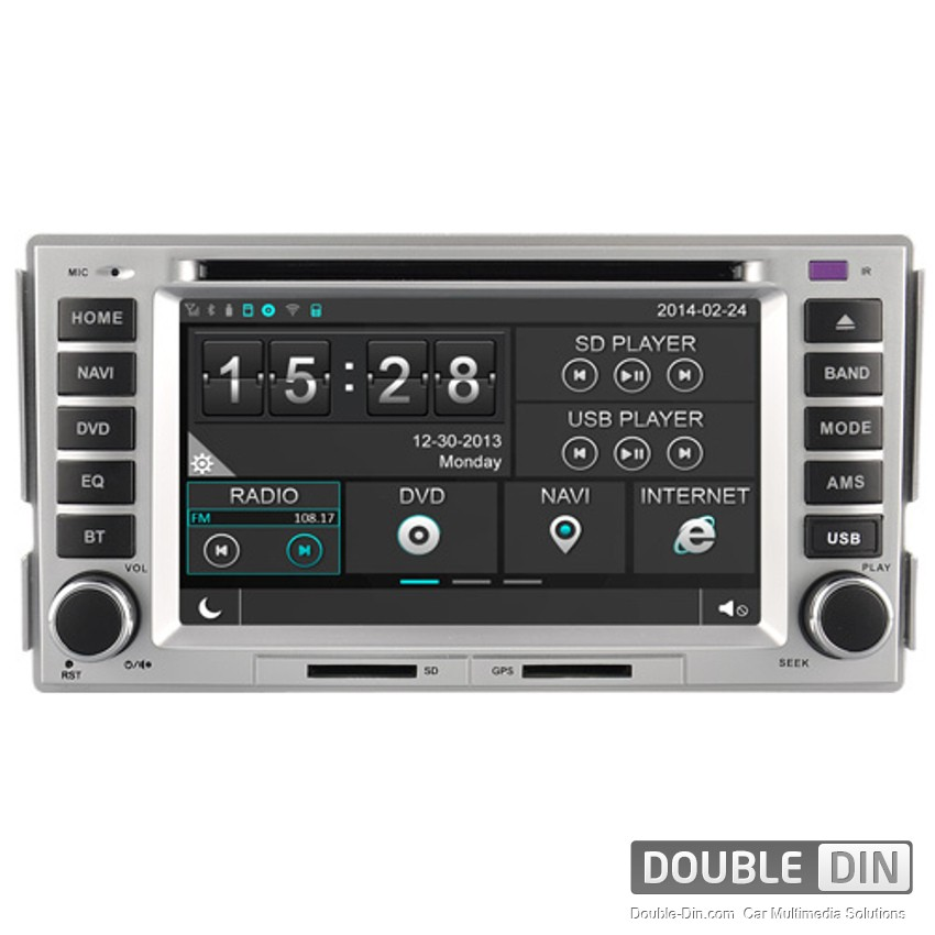 Navigation / Multimedia Head unit for Hyundai Santa Fe, Elantra - DD-8268