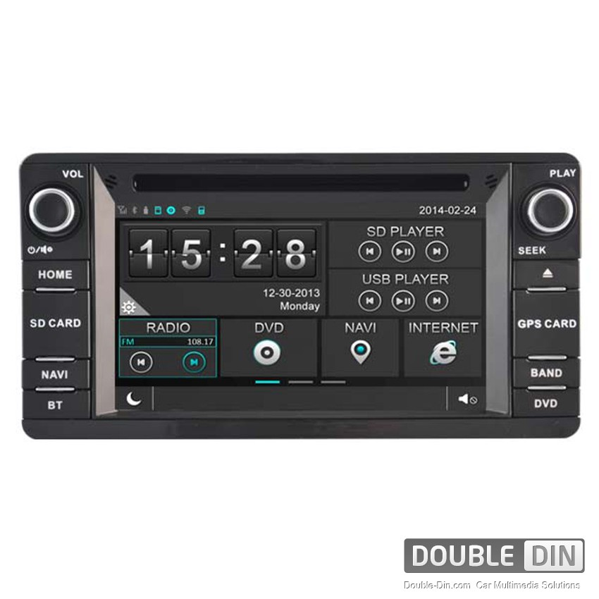 Navigation / Multimedia Head unit for Mitsubishi Outlander - DD-8844
