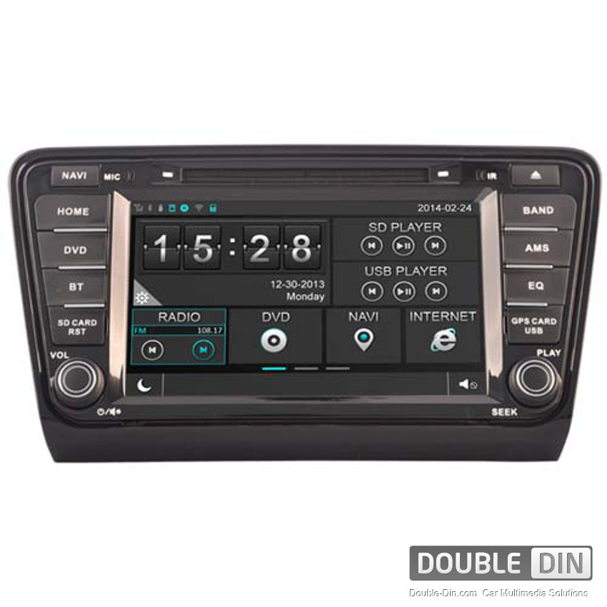 Navigation / Multimedia Head unit for Skoda Octavia - DD-8200