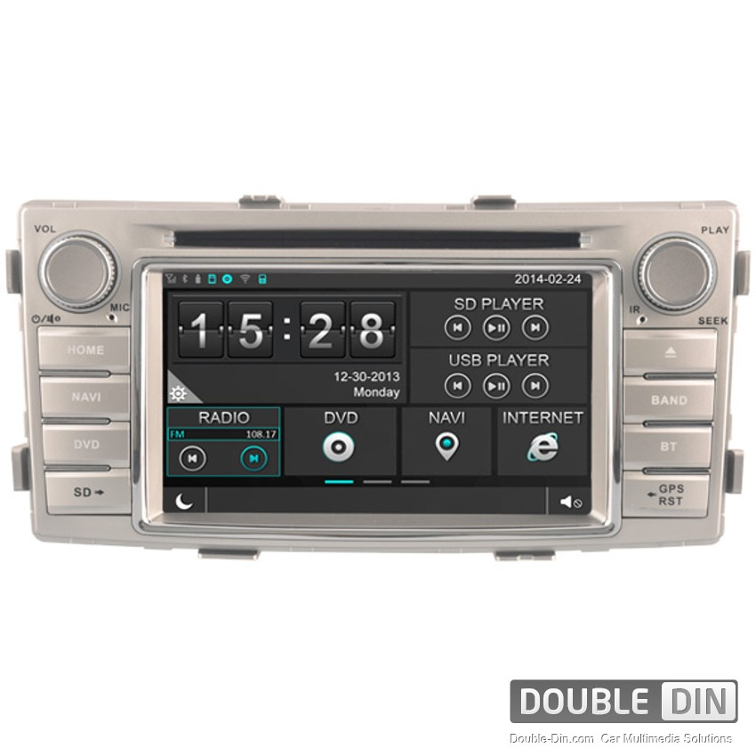Navigation / Multimedia Head unit for Toyota Hilux - DD-8138