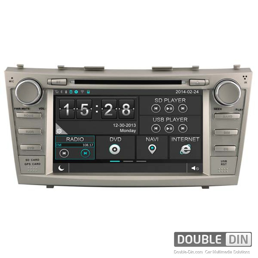 Navigation / Multimedia Head unit for Toyota Camry - DD-8117