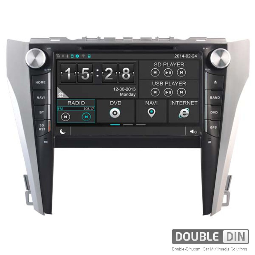 Navigation / Multimedia Head unit for Toyota Camry - DD-8125