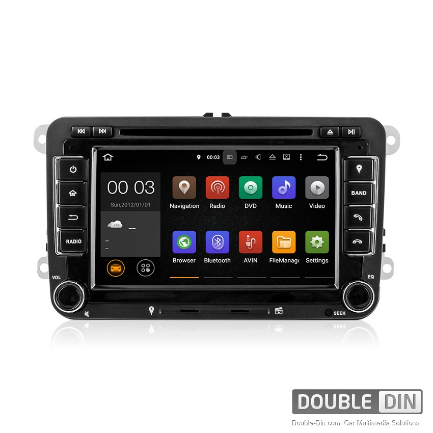 Navigation / Multimedia Head unit with Android 5.1 for VW Golf, Passat, Tiguan, Touran, EOS, Caddy, Jetta - DD-7048