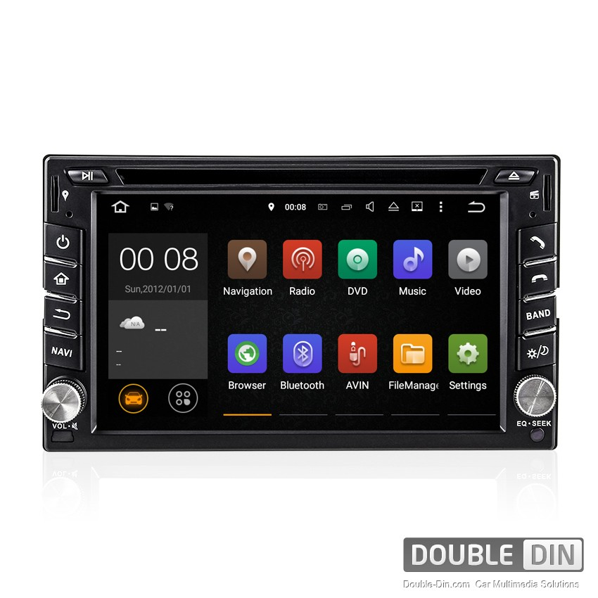 Universal Navigation / Multimedia Head unit with Android - DD-6539
