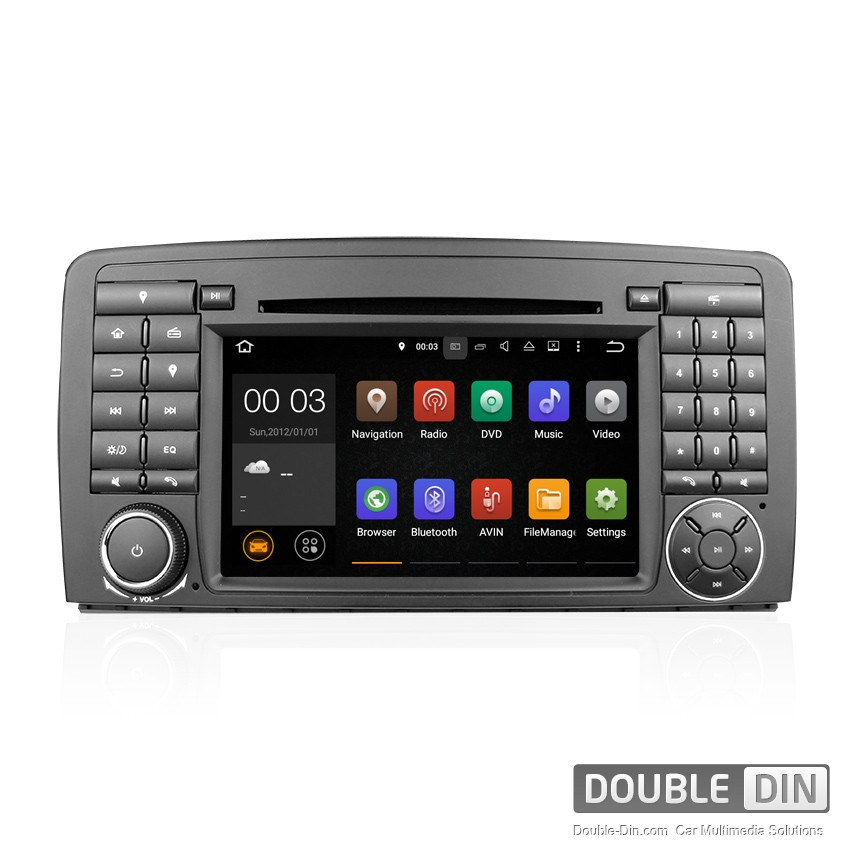 Navigation / Multimedia Head unit with Android 5.1 for for Mercedes R-class W251 - DD-7081