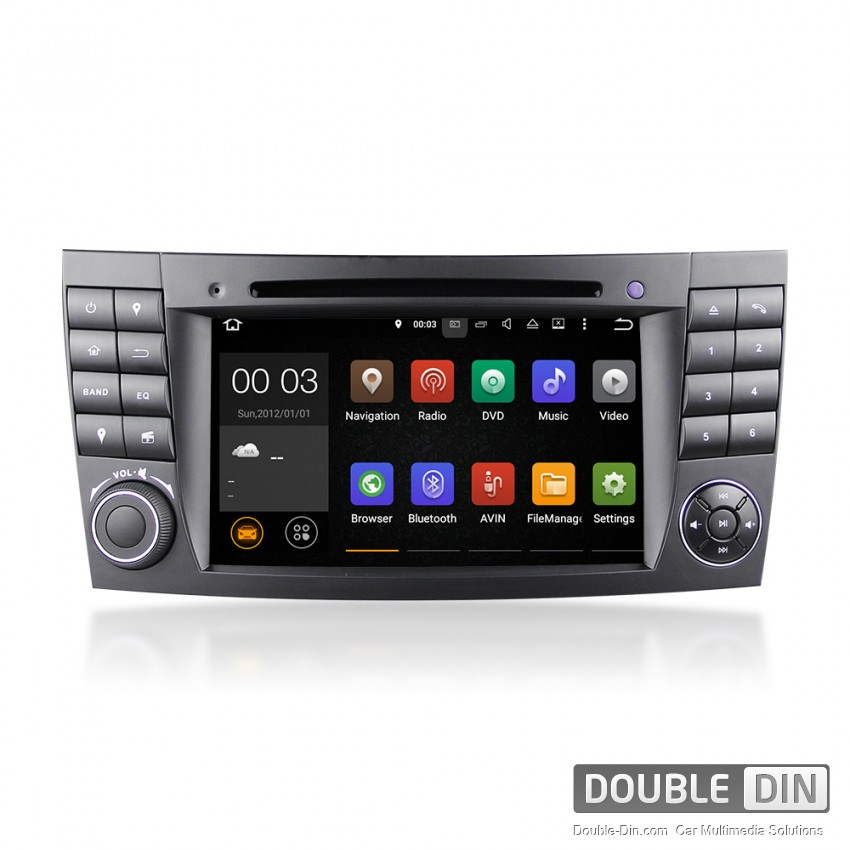 Navigation / Multimedia Head unit with Android 5.1 for  Mercedes E-class W211, CLS W219  - DD-7080