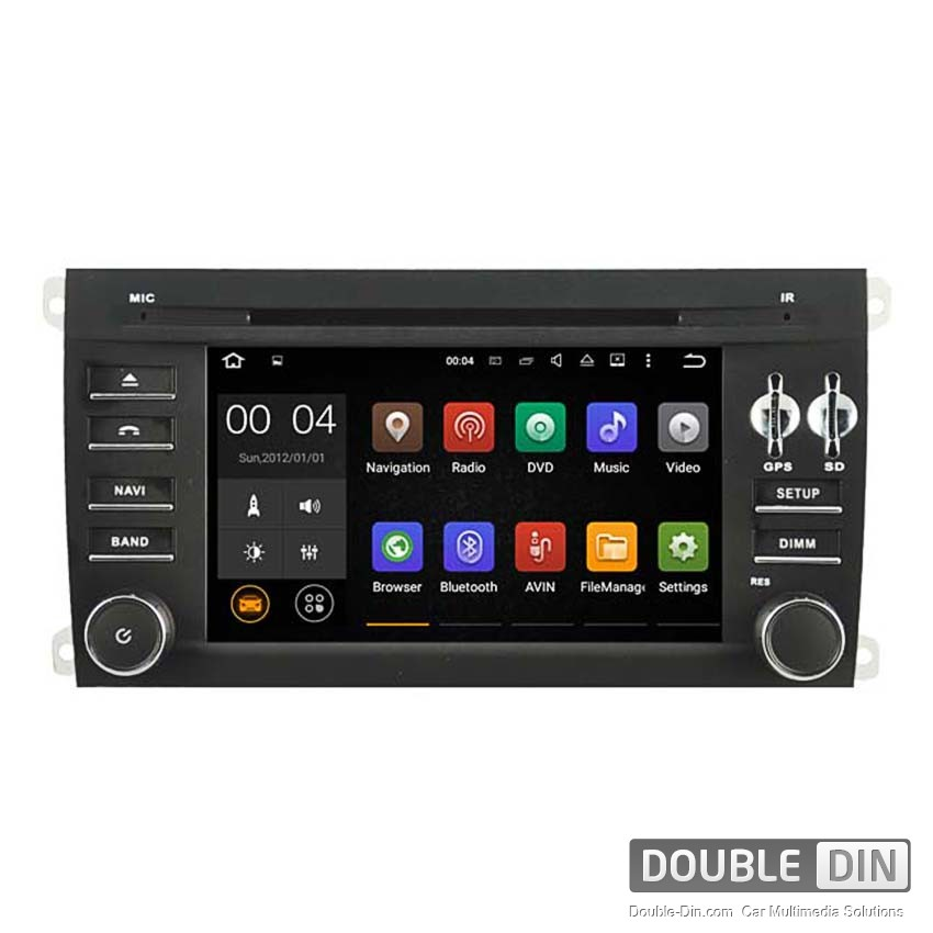 Navigation / Multimedia Head unit with Android 5.1 for Porsche Cayenne - DD-5546