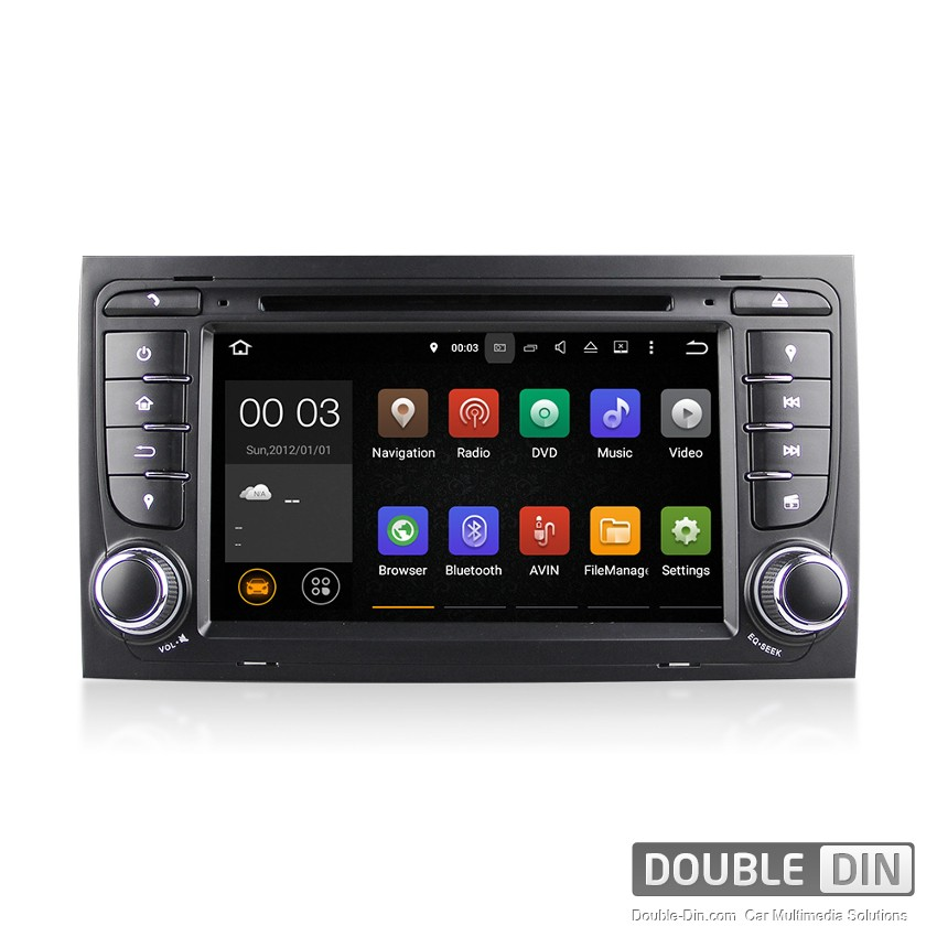 Navigation / Multimedia Head unit with Android 5.1 for Audi A4/S4/RS4 - DD-7078