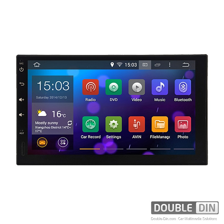 Universal Navigation / Multimedia Head unit with Android - DD-9907