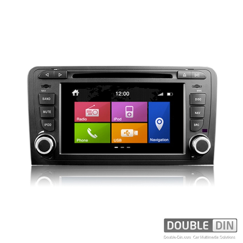 navigation multimedia head unit dynavin for audi a3 n6 a3. Black Bedroom Furniture Sets. Home Design Ideas