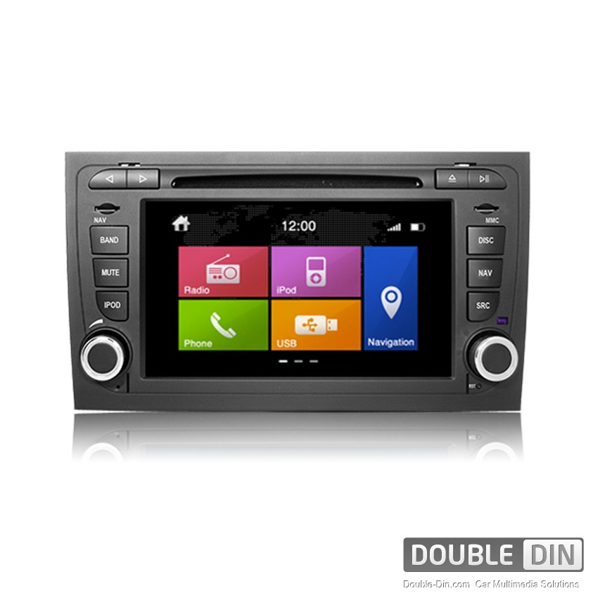 navigation multimedia head unit dynavin for audi a4 n6 a4. Black Bedroom Furniture Sets. Home Design Ideas