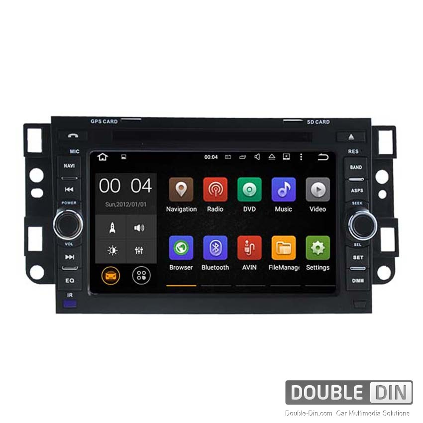 Navigation / Multimedia Head unit with Android 5.1 for Chevrolet Captiva, Epica - DD-5750