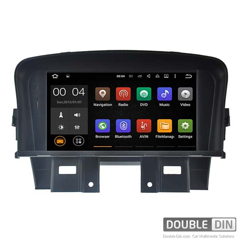Navigation / Multimedia Head unit with Android 5.1 for Chevrolet Cruze, Lacetti II  - DD-5751