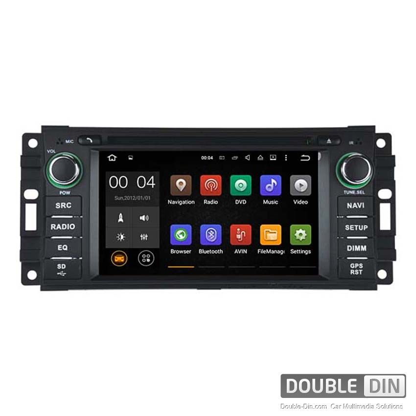 Navigation / Multimedia Head unit with Android 5.1 for Chrysler Sebring, Jeep - Grand Cherokee, Commander, Wrangler  - DD-5620