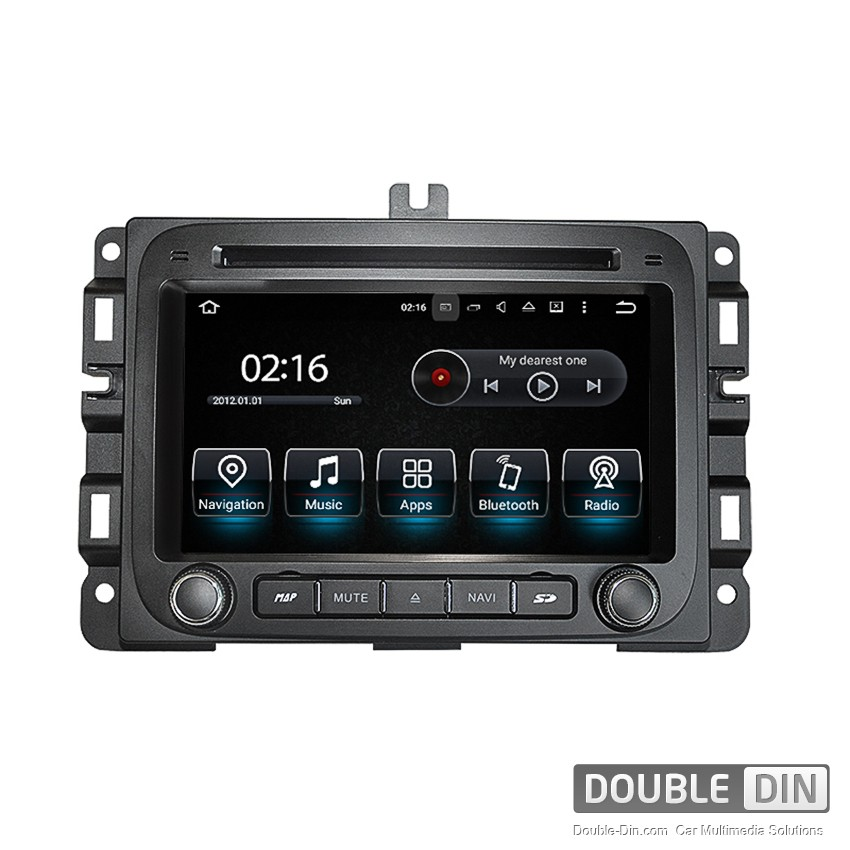 Navigation / Multimedia Head unit with Android 5.1 for Dodge RAM 1500 - DD-8511