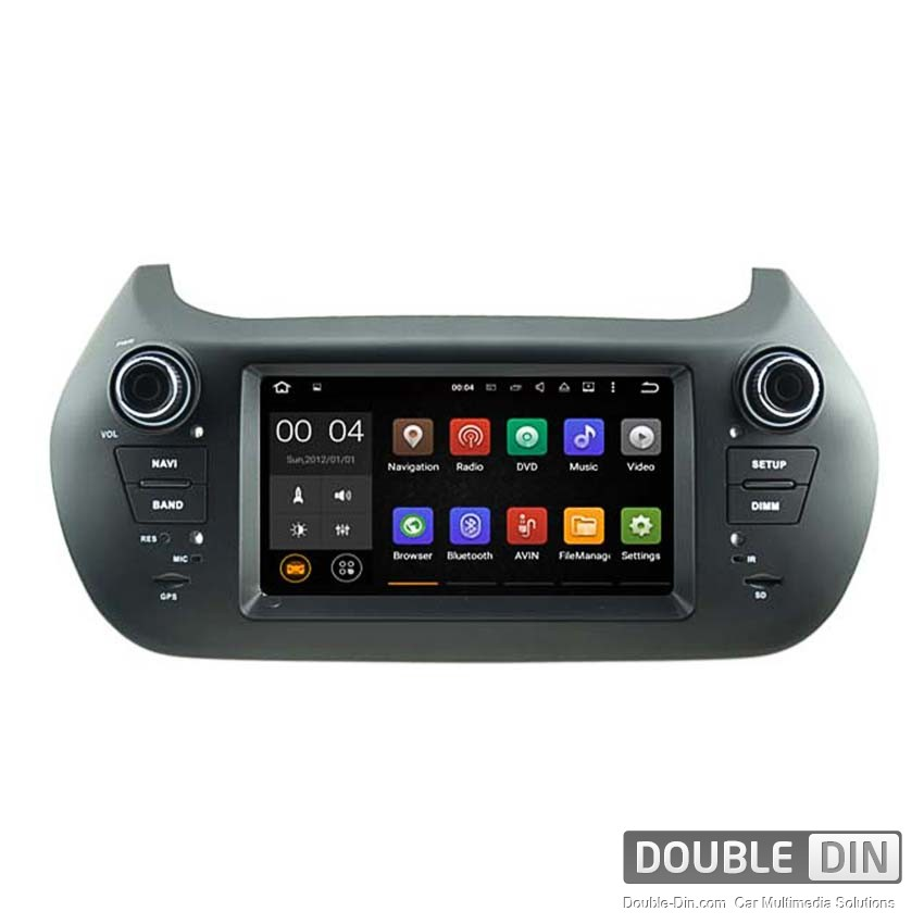 Navigation / Multimedia Head unit with Android 5.1 for Fiat Fiorino  - DD-5538