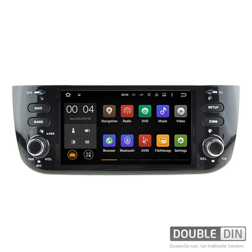 Navigation / Multimedia Head unit with Android 5.1 for Fiat Punto  - DD-5594