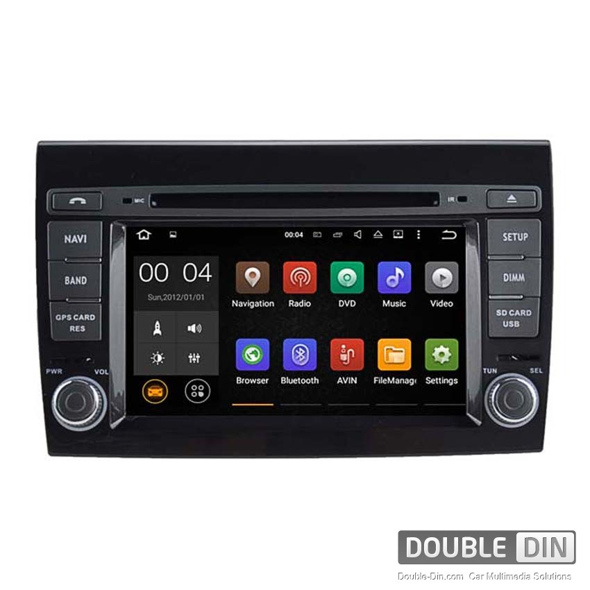 Navigation / Multimedia Head unit with Android 5.1 for Fiat Bravo  - DD-5772