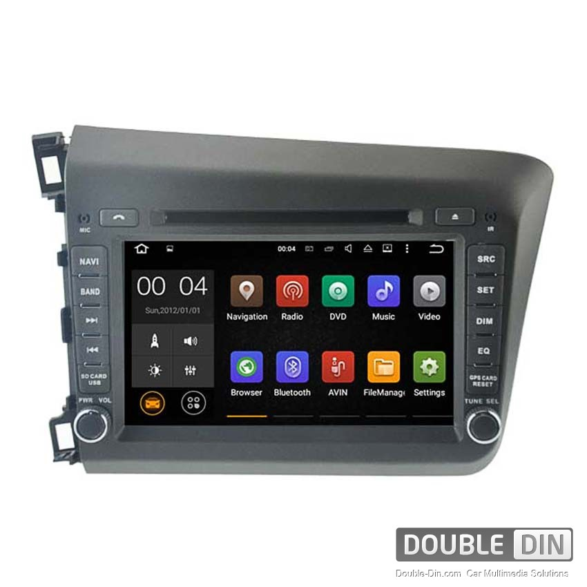 Navigation / Multimedia Head unit with Android 5.1 for Honda Civic  - DD-5728