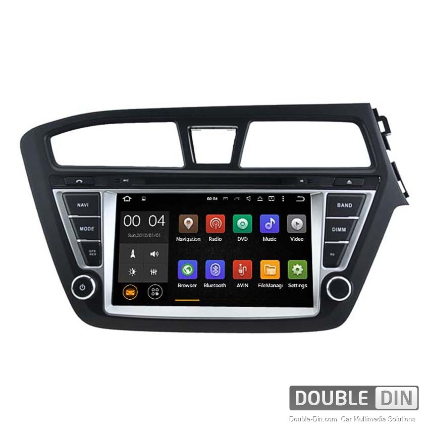Navigation / Multimedia Head unit with Android 5.1 for Hyundai I20  - DD-5566
