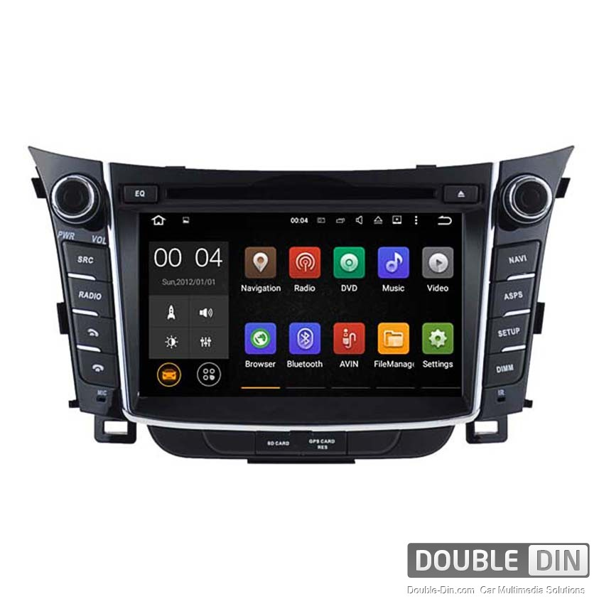 Navigation / Multimedia Head unit with Android 5.1 for Hyundai I30  - DD-5724