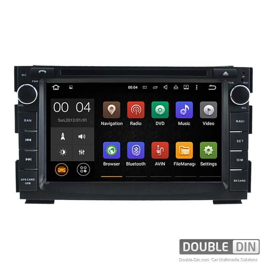 Navigation / Multimedia Head unit with Android 5.1 for Kia Ceed  - DD-5744
