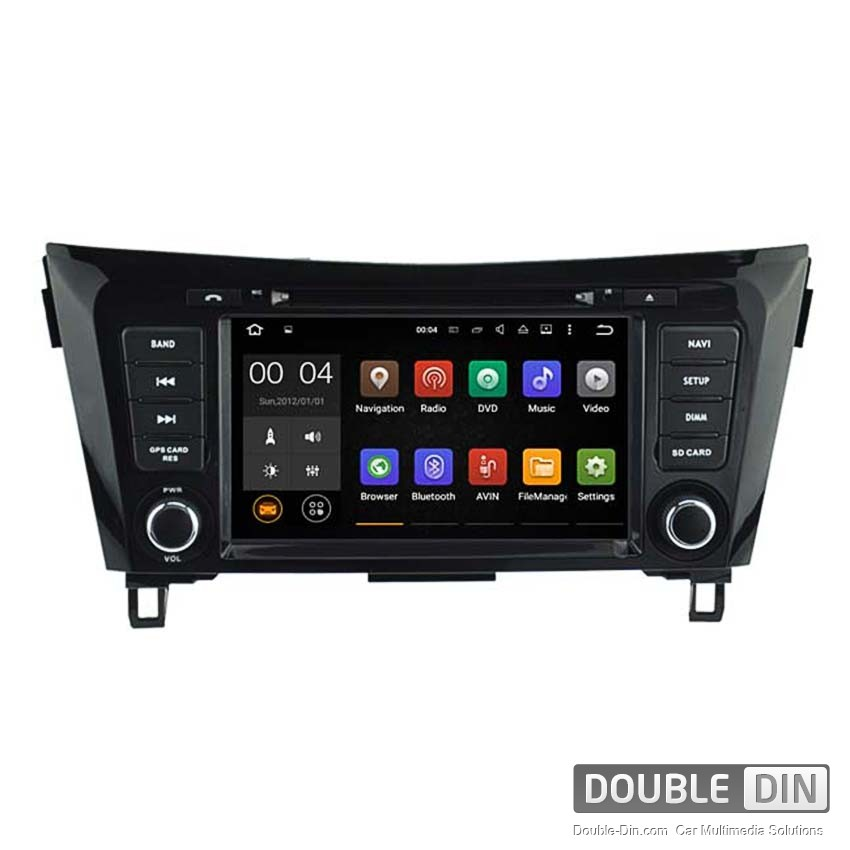 Navigation / Multimedia Head unit with Android 5.1 for Nissan Qashqai  - DD-5537