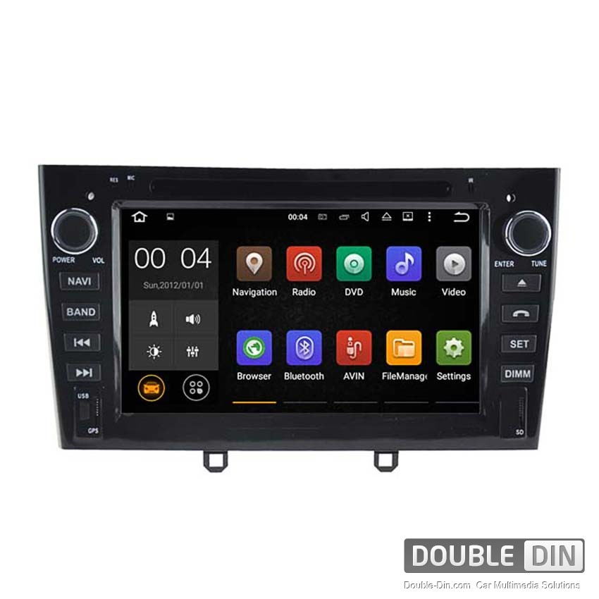 Navigation / Multimedia Head unit with Android 5.1 for  Peugeot 408  - DD-5634