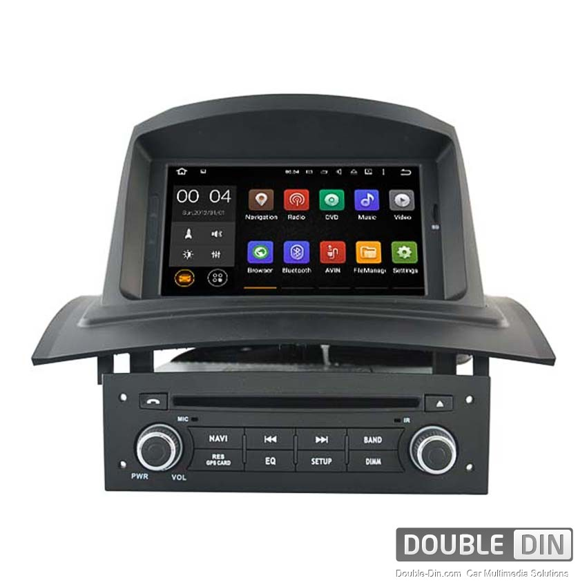 navigation multimedia head unit with android 5 1 for renault megane ii dd 5522. Black Bedroom Furniture Sets. Home Design Ideas