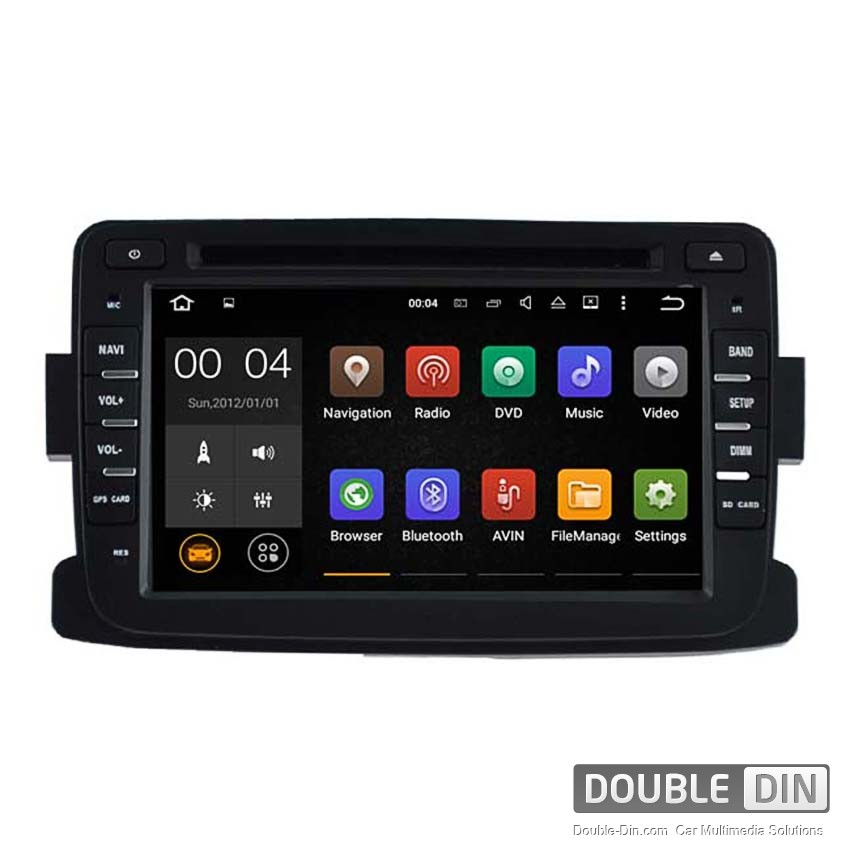 Navigation / Multimedia Head unit with Android 5.1 for  Renault Duster  - DD-5787