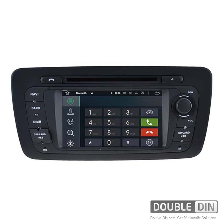 navigation multimedia head unit with android 5 1 for seat ibiza dd 5524. Black Bedroom Furniture Sets. Home Design Ideas