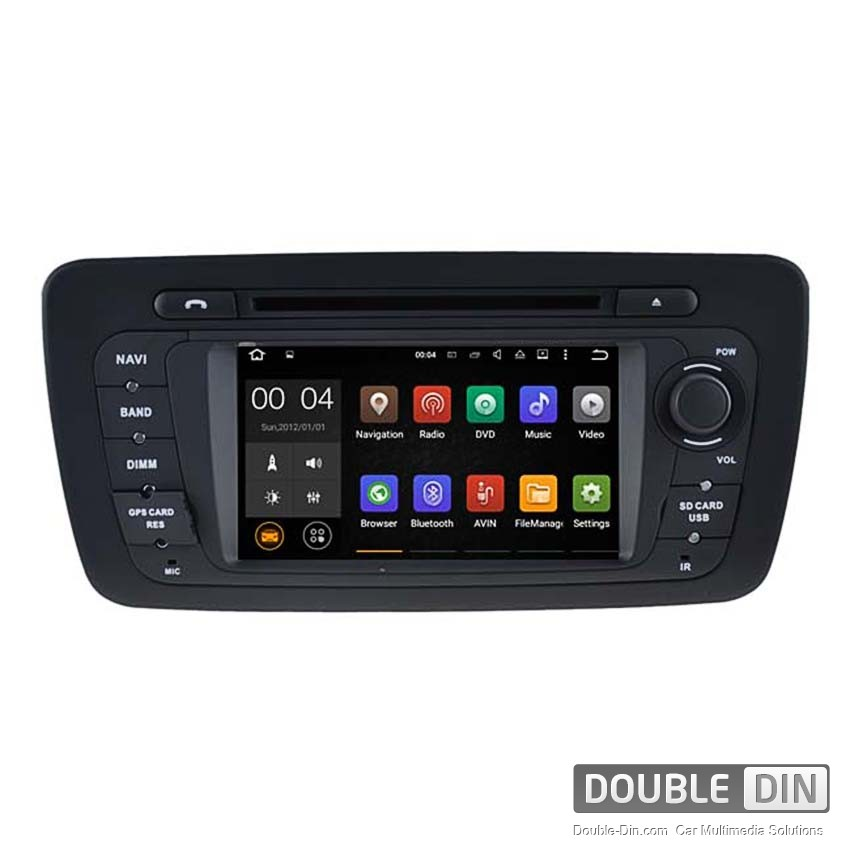 Navigation / Multimedia Head unit with Android 5.1 for  Seat Ibiza  - DD-5524
